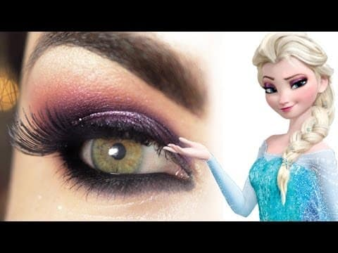 Tutorial - makeup Elsa de Frozen