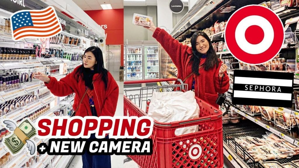 SHOPPING SA AMERIKA! 🇺🇸 SEPHORA & TARGET + BOUGHT A NEW CAMERA | Toni Sia