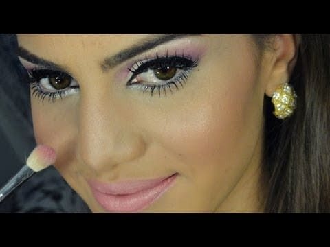 """Maquiagem Jennifer Lopez """"Dance Again"""" por Camila Coelho"""