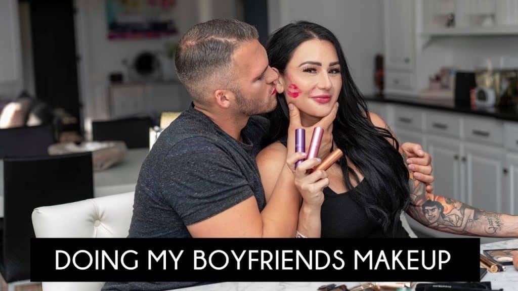 JWOWW faz a maquiagem de seu namorado!