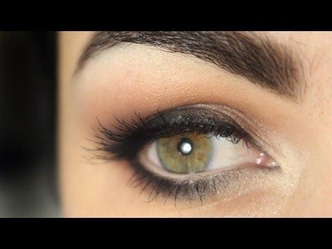 """Maquiagem - olho esfumado neutro especial """"volta às aulas"""""""