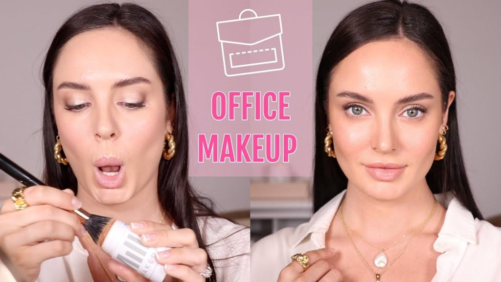15 Minute Everyday Work Tutorial de maquiagem \ Chloe Morello