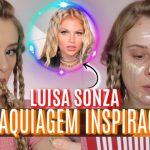MAQUIAGEM e CABELO INSPIRADOS na LUISA SONZA - clip Garupa | Amanda Pastore