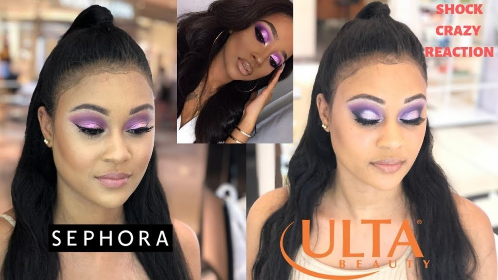 I WENT TO THE BEST REVIEWED SEPHORA VS ULTA IN MY CITY | WHICH MAKEUP LOOK BETTER??