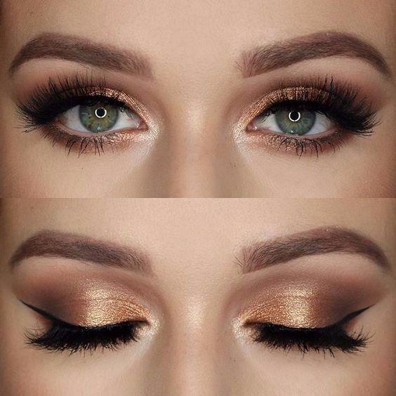 Imagem relacionada - Ginny pitcher - #ye makeup #yeye brown eyes # eyelash ...