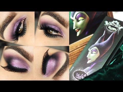 Maquiagem com a paleta Malévola da Vult