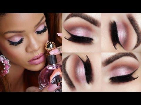 Valentine`s Day Makeup Tutorial - Maquiagem inspirada na Rihanna