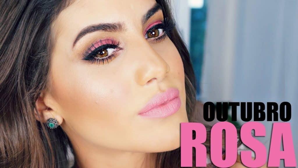 Maquiagem Outubro Rosa!