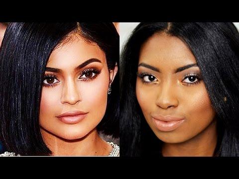 Maquiagem cara de rica   Inspiração Kylie Jenner - Por Camila Nunes