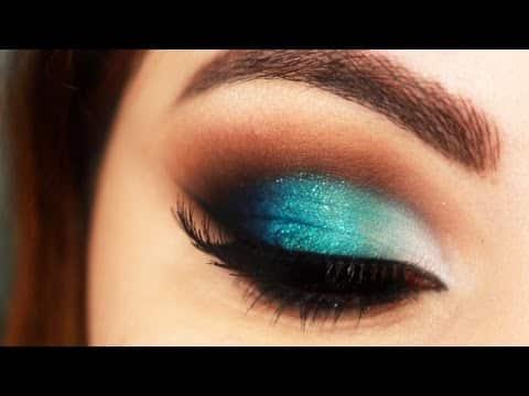 Makeup Mermaid - Maquiagem Sereia com Degradê e Cut Crease