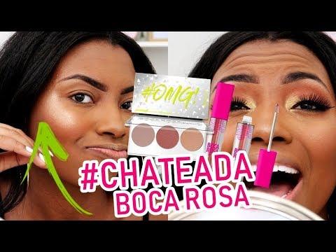 TESTANDO BOCA ROSA BEAUTY NA PELE NEGRA Camila Nunes