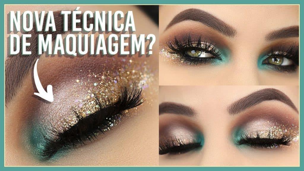 NOVA TÉCNICA DE MAKE? Conheça o Blending Glitter Eyeliner