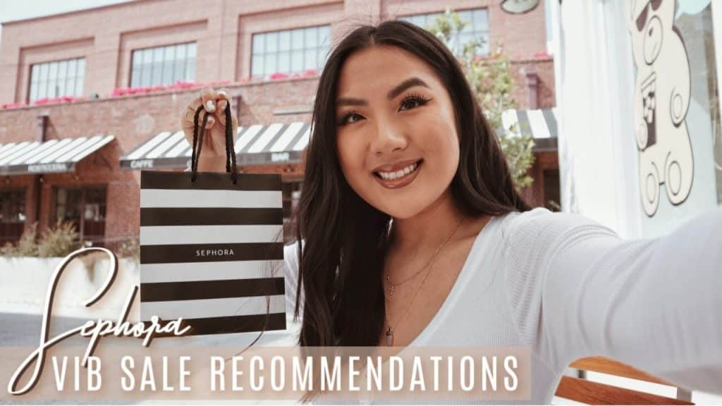 I went to Sephora for VIB sale recommendations from employees! Youtuber VS. Employee recs so diff!