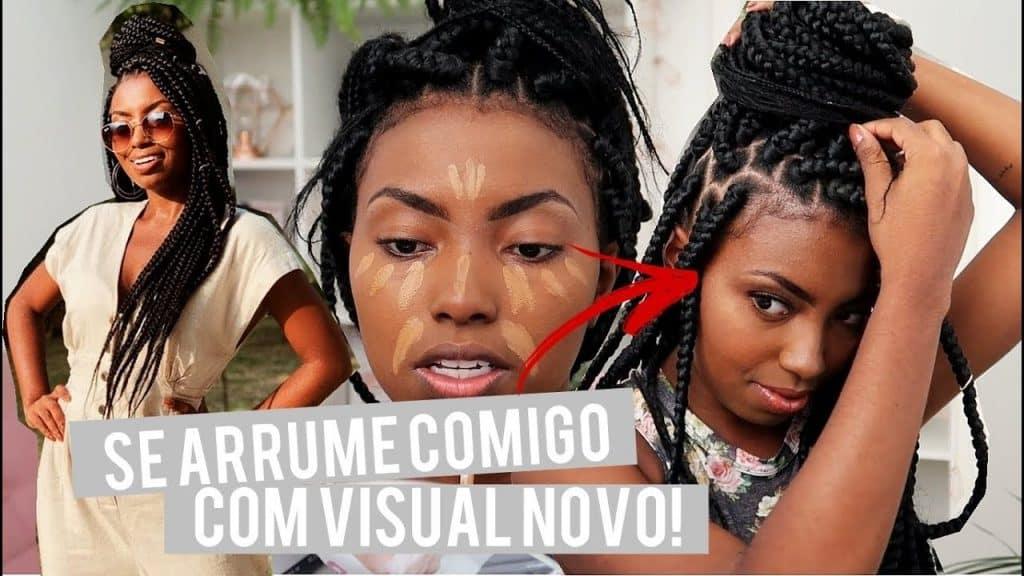 SE ARRUME COMIGO COMPLETO MAKE, CABELO E LOOK Camila Nunes