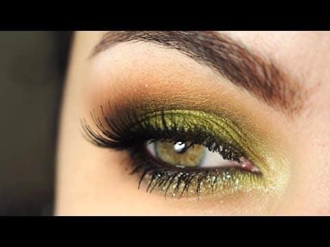 Maquiagem verde Tinker Bell (Sininho)