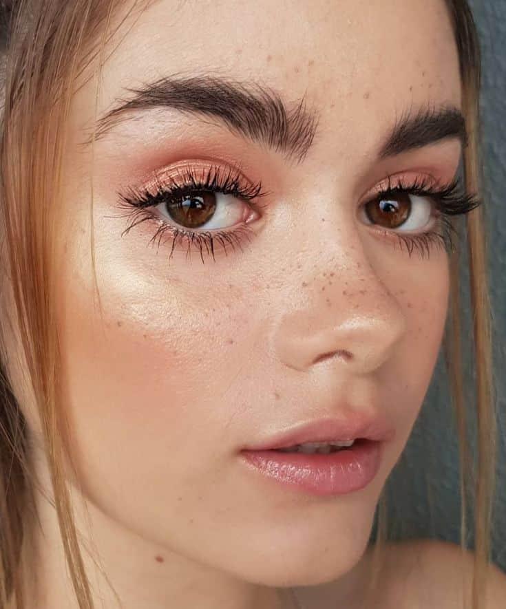 Maquiagem para cada novo ano de 2019 - opções para cada festa, brilho, sem problemas, para cada
