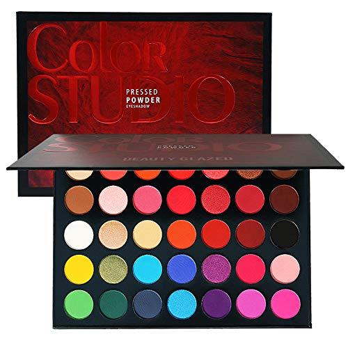 Famosa Paleta da Sombra revenda Color Studio Paleta da sombra para os olhos 35 Cores Maquiagem em Pó Impermeável Liberte o Artista Interno Beleza Esmaltado