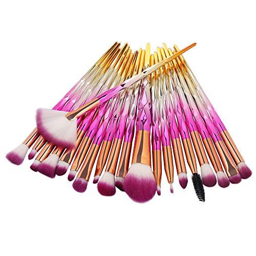 Ninasill Paleta de Contorno de Corretivo de Maquiagem de 15 Cores + Esponja de Água + Escova de Maquiagem (D)