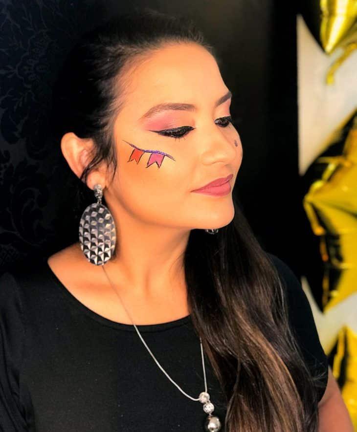 Maquiagem para festa junina: 60 ideias para arrasar nessa época do ano