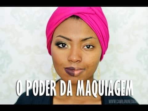 O PODER DA MAQUIAGEM   The power of makeup!