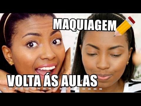 MAQUIAGEM VOLTA ÀS AULAS 2017 por Camila Nunes