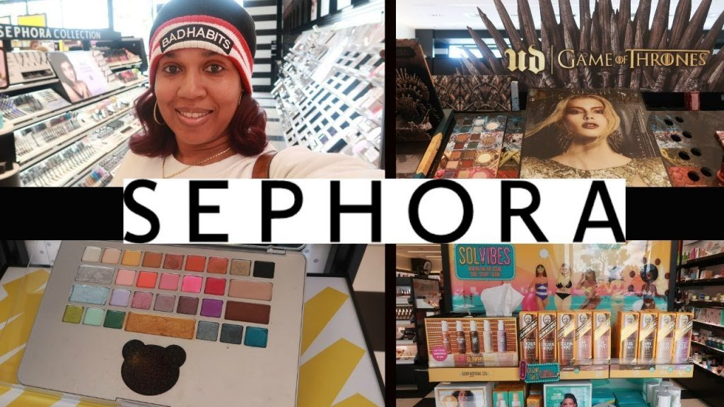 SEPHORA* COME WITH ME/ MOSCHINO* GAME OF THRONES & MORE