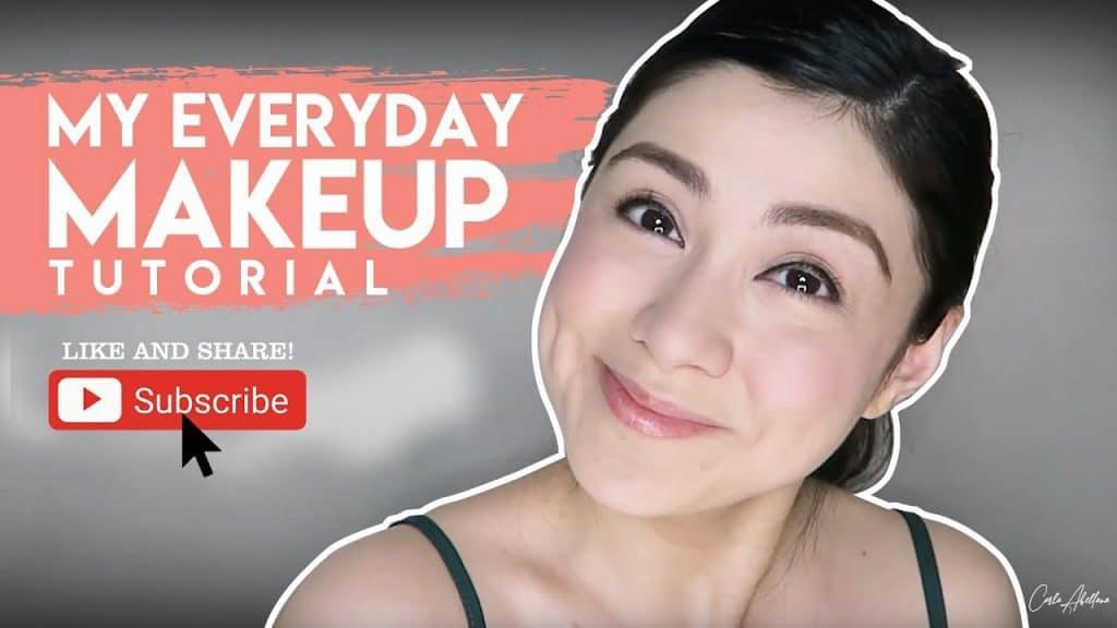 Vlog # 2: Meu tutorial de maquiagem todos os dias   Carla Abellana