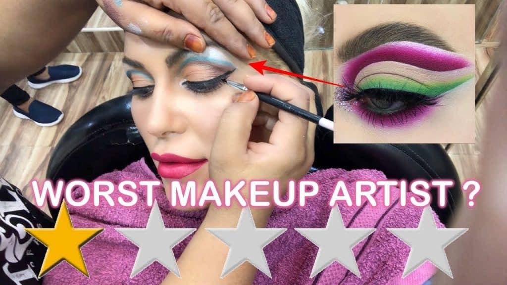 Fui ao pior artista de maquiagem revisado em Dubai