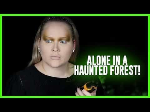 Fazendo minha maquiagem, sozinho em uma floresta assombrada! | NikkieTutoriais