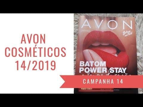 COSMÉTICOS AVON CAMPANHA 14/2019