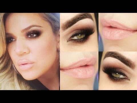Makeup Khloe Kardashian - Maquiagem rápida com 1 sombra! #desafiomake1sombra