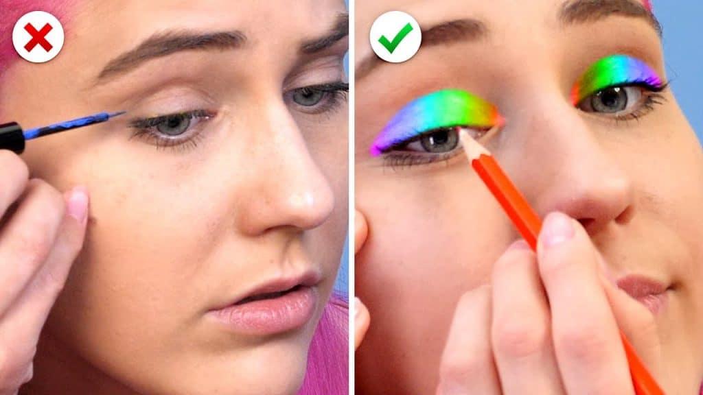 10 Hacks de beleza úteis e mais idéias de maquiagem DIY para meninas inteligentes