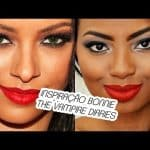 MAKE INSPIRAÇÃO BONNIE THE VAMPIRE DIARIES por Camila Nunes