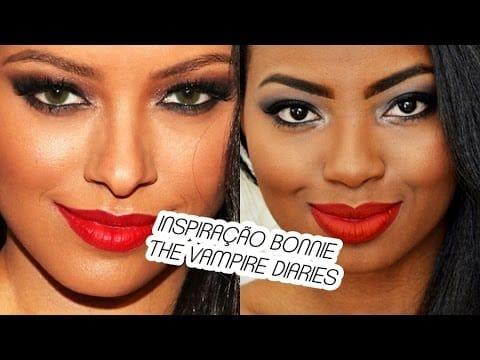 MAKE INSPIRAÇÃO BONNIE THE VAMPIRE DIARIES por Camila Nunes