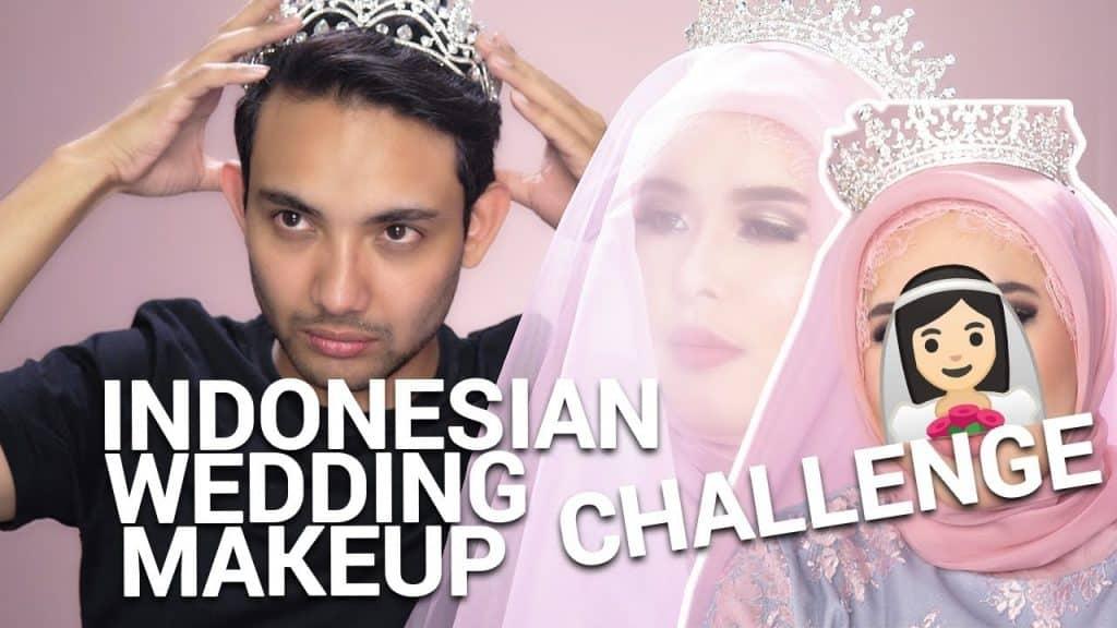 Desafio de maquiagem de casamento indonésio ft Intan Kaharuddin