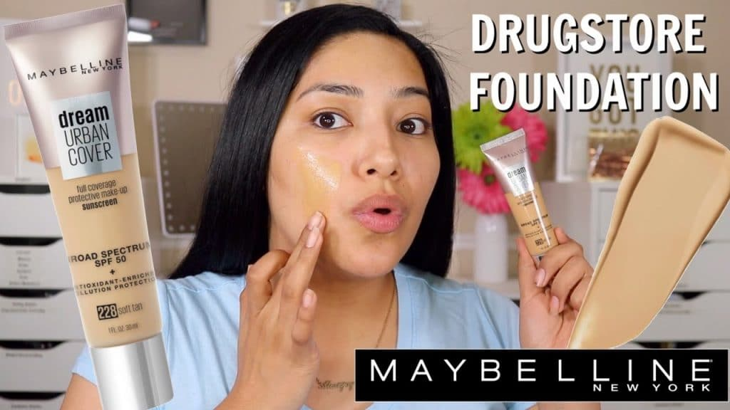 NEW MAYBELLINE DREAM URBAN COVER SPF50 | FULL DAY WEAR TEST! WOW - ALEXISJAYDA