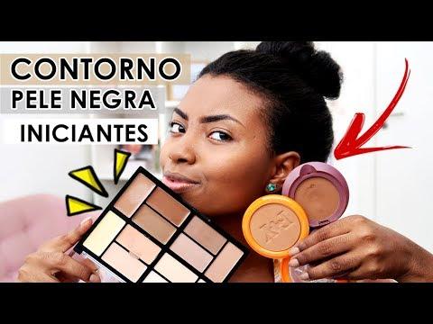 CONTORNO PELE NEGRA INICIANTES + DESABAFO Camila Nunes
