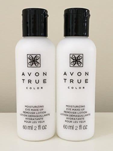 Conjunto de 2 Avon Moisture Effective Loção removedor de maquiagem para os olhos, 60 ml / 2 fl oz cada