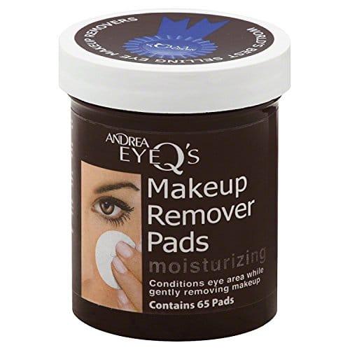 Andrea Eye Q's Removedor de maquiagem para os olhos Hidratante 65 Cada (conjunto de 4)