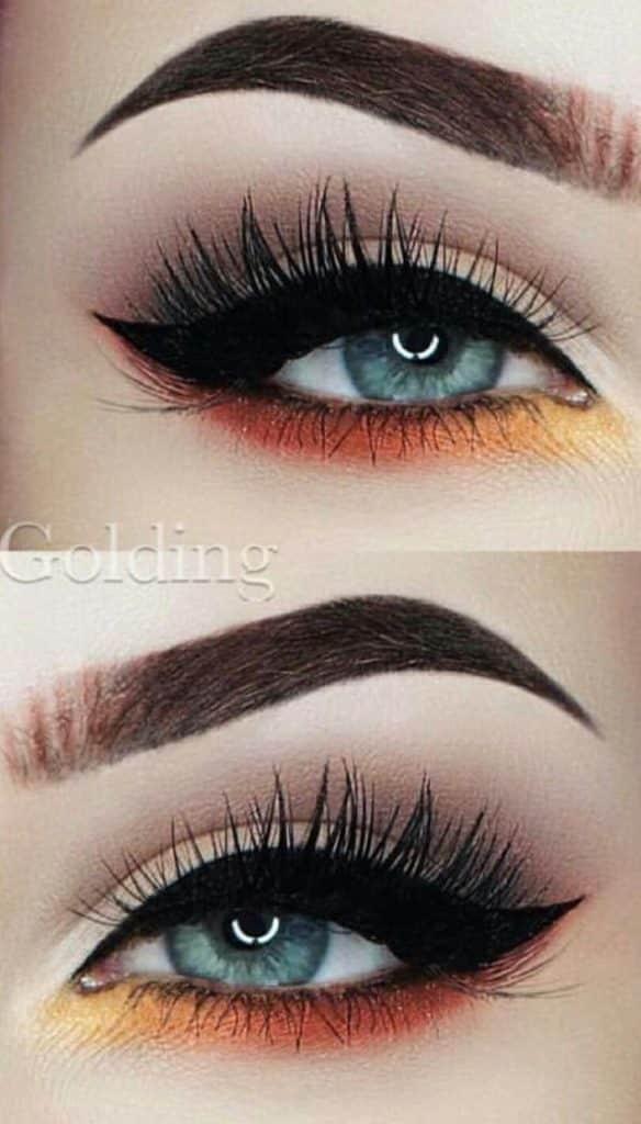 Este é um conceito de sobrancelhas realmente bonito e simples ...