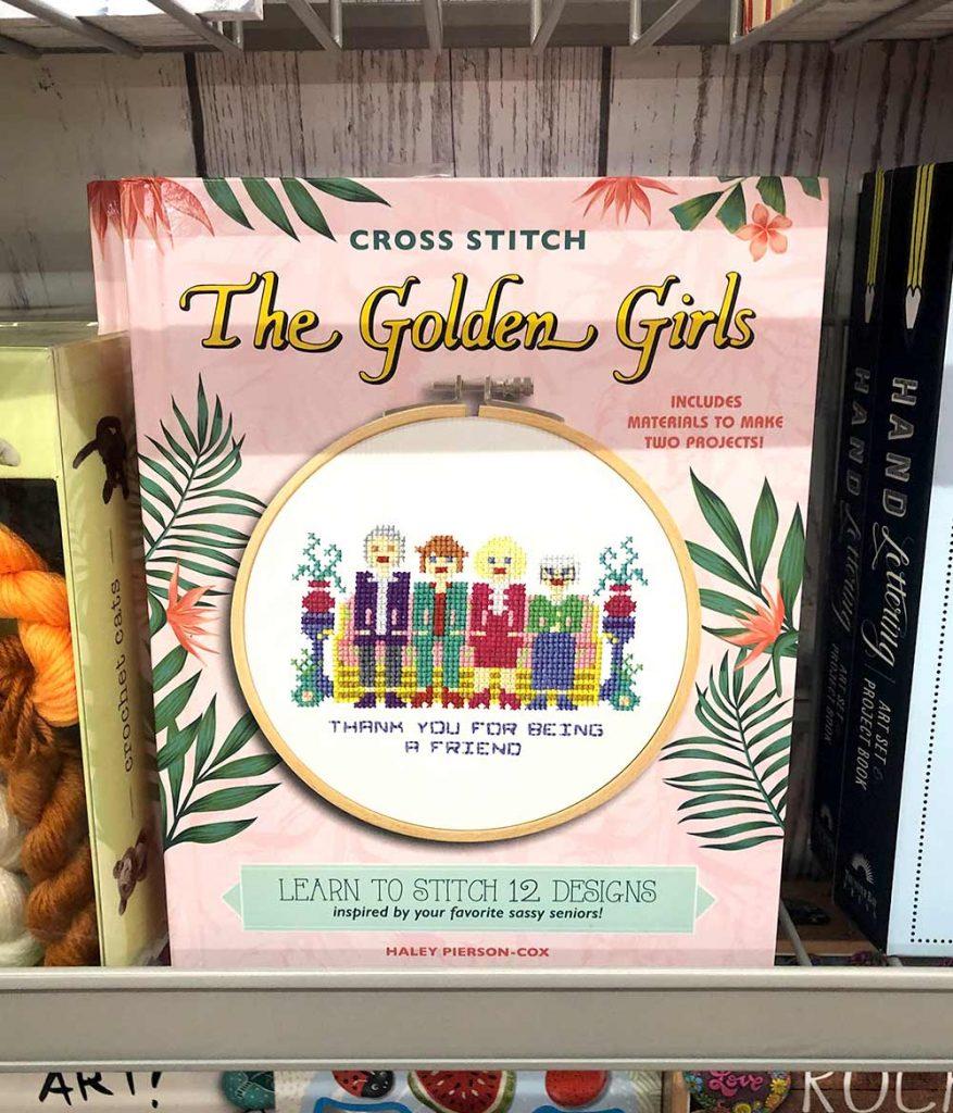 golden girls cross stitch