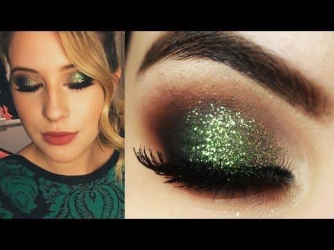 Maquiagem Natalina Verde Niina Secrets - Christmas Makeup Tutorial
