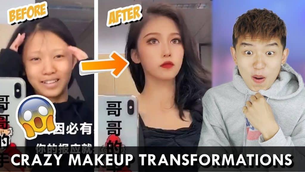 7 MAIS TRANSFORMAÇÕES DE MAQUIAGEM CHINESA DA TIK TOK CHINA