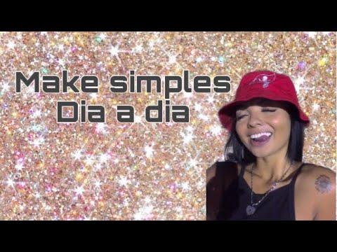 MAQUIAGEM SIMPLES - DIA A DIA @comzcrlh