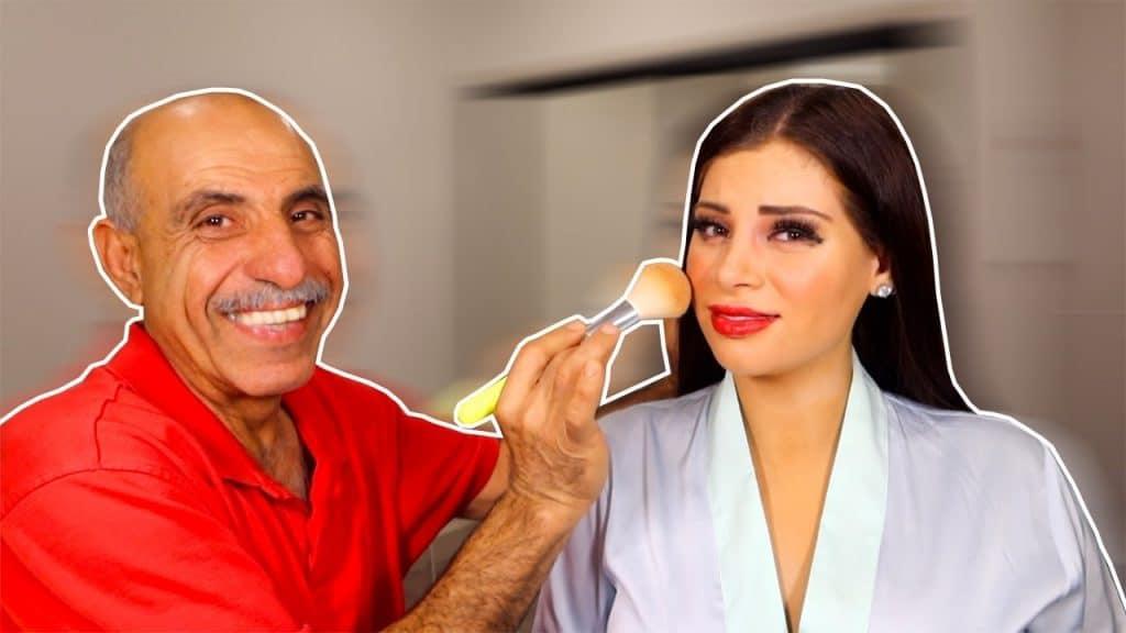 Meu pai estrangeiro faz minha maquiagem * enviar ajuda *