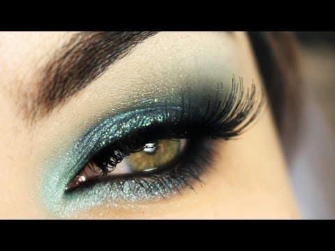 Maquiagem azul de Sereia - Mermaid Blue Makeup