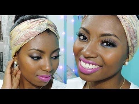 #PELENEGRA - Maquiagem Glam Color - Por Camila Nunes
