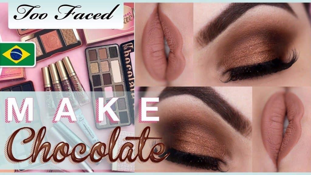 Olho Marrom Esfumado Chocolate - TOO FACED NO BRASIL - Makeup Tutorial