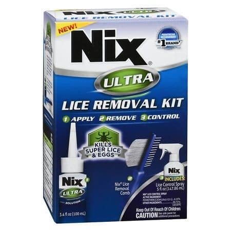 Kit de remoção para piolhos Nix Ultra - 3PC