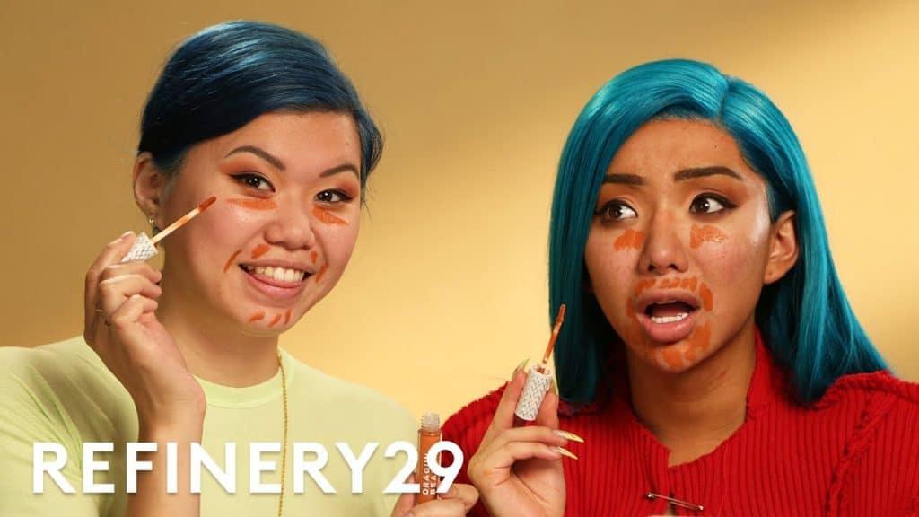 Eu segui a rotina de maquiagem de Nikita Dragun   Beleza com mi   Refinaria29